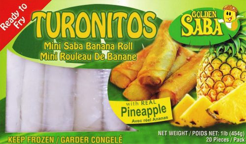 Turonitos with Pineapple
